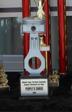 Summer Showdown Car Show Silent Auction Events Michael - Piston car show trophies