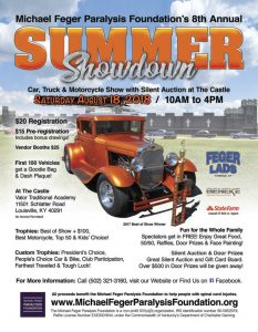 Summer Showdown Car Show Silent Auction Events Michael - Car show louisville ky